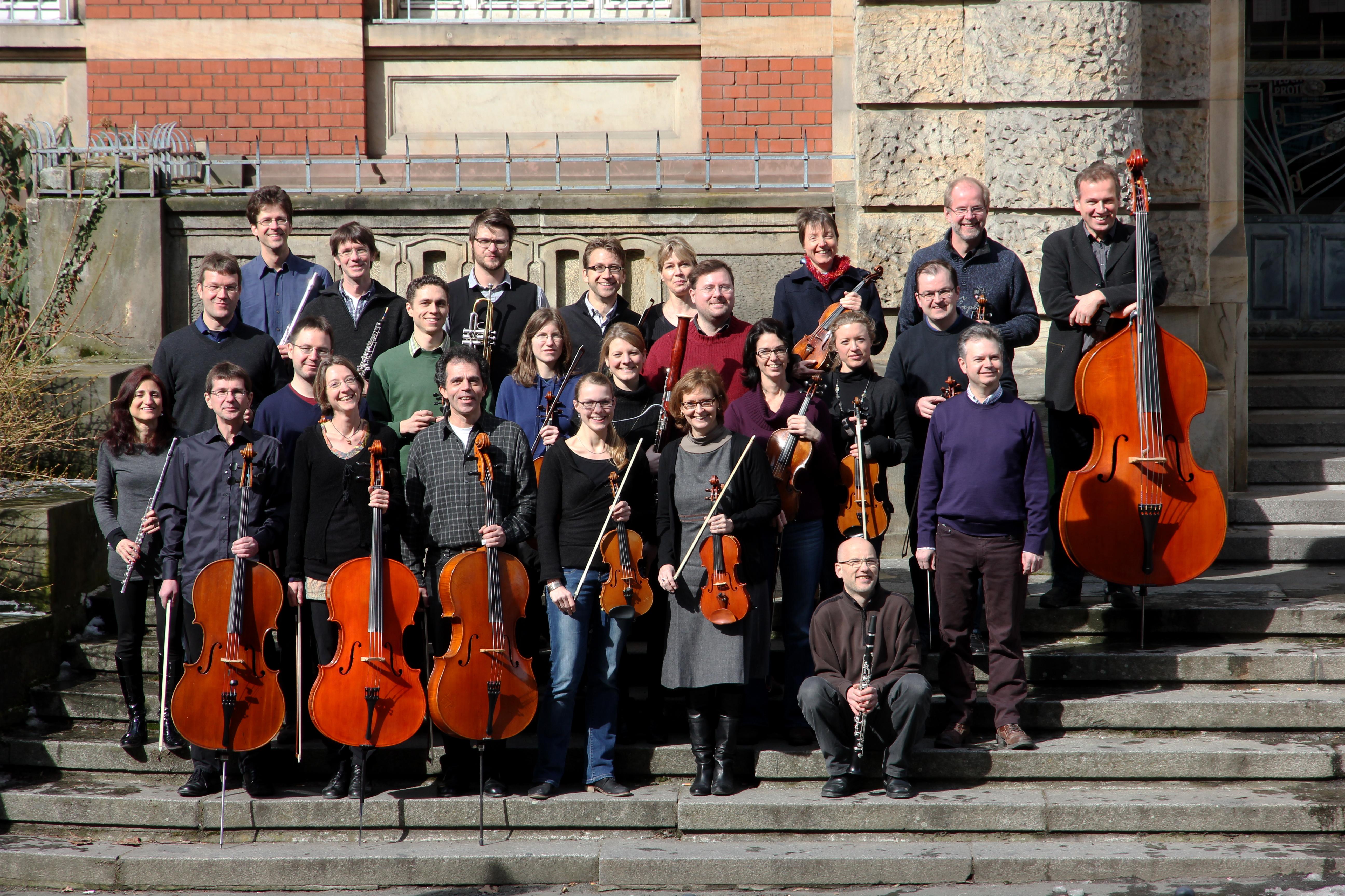 Das Kammerorchester an der TU Darmstadt