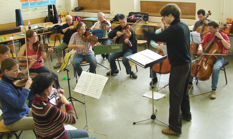 2006-05-Kammerorchester-TUD-Probe