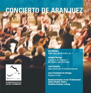 CD Cover Concierto de Aranjuez
