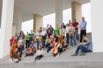 2014-06-Kammerorchester-TUD-vor-Hessischer-Landes-und-Universitätsbibliothek