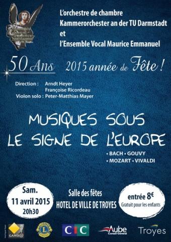 Concert à Troyes