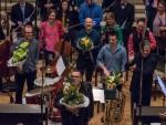 2015-11 Symphonic Jazz: Jazzsuite-Solisten und Komponist Jürgen Wuchner (vorn)