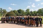 2016-05 Kammerorchester an der TU Darmstadt im Orangeriegarten (Foto: O. Fürste)