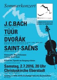 "Flyer ""Sommerkonzert 2016"""