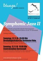 "Flyer ""Symphonic Jazz II"""