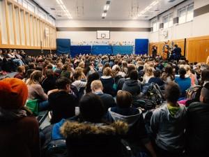 2016-11 Uwaga! in der Viktoriaschule Darmstadt (Foto: S. Gerspach)