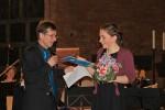 2017-03: Antonia Hadulla erhält Sonderpreis des Kammerorchester in der Christuskirche (Foto: Gerspach)