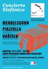 """Flyer """"Concierto Sinfónico"""" am 19. und 25.11.2017"""